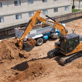 Máy xúc đào bánh xích CASE CX130C